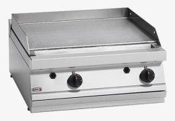 Gas stegeplade m/ thermostat, FAGOR FTG-7 DOBBELT