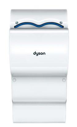Håndtørrer Dyson ab07 hvid, brugt på messe