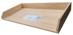 Bøgeplade til pizzabord - flere størrelser