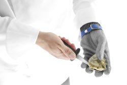 Handske til østers, flere størrelser, Hendi