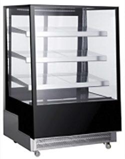 Display montre m. køl og 3 vinkel hylder - Flere størrelser
