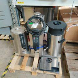Kaffebrygger 2x 5 liter fra Animo, Brugt