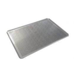 Bageplade / bakeoff plade, 60 x 40 cm, perforeret