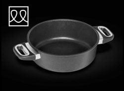 Braseringspande til induktion Ø24 cm  - AMT GASTROGUS - WORLDS BEST PAN
