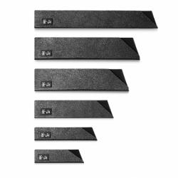 Cangshan Knivbeskyttersæt á 6 dele - Sort