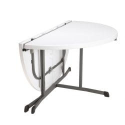 Det originale Lifetime bord Ø153 Foldbart