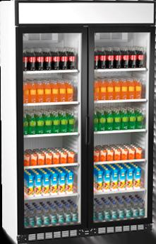 Flaskekøleskab med 2 døre, Simfer SDS770DC2CF