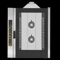 Industriovn, 11 stiks 1/1 GN Damp-ovn, GAS,EKA EKF 1111 G E UD - Elektronisk styring