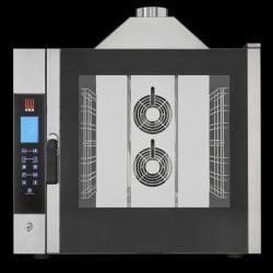 Industriovn, 7 stiks 1/1 GN Damp-ovn, GAS, EKA EKF 711 G TC - Digital touch styring
