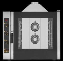 Industriovn, 7 stiks 1/1 GN Damp-ovn, GAS, EKA EKF 711 G UD - Analog styring