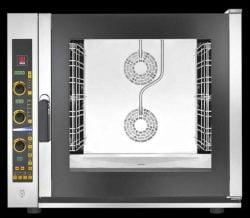 Industriovn, EKA EKF 711 E UD, 7 stik inkl. vaskesystem