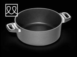 Kasserolle til induktion Ø28 cm  - AMT GASTROGUS - WORLDS BEST PAN