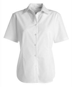 Kentaur, Dameskjorte, kortærme - Hvid