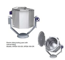 Kipgryde 100 L , Virutekk KPEM-100-OR, Manuel kip