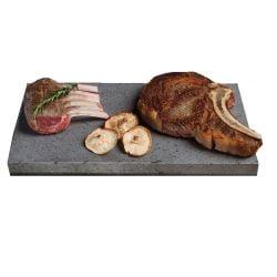 Lavarock STEN til madlavning - 20 x 35 x 2,5 cm.