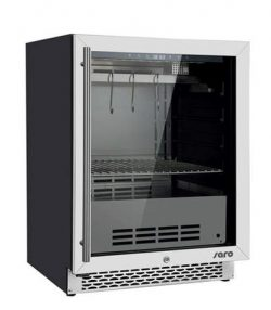 Modningskøleskab fra Saro, DA-127, i mat sort