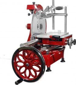 Pålægsmaskine 30 cm klinge DEKORATIV med håndsving, Amitek