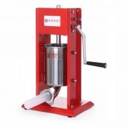 Pølsestopper 3 liter - Hendi kvalitetsprodukt i rustfrit stål med 4 tragte i forskellige størrelser