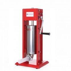 Pølsestopper 5 liter - Hendi kvalitetsprodukt i rustfrit stål med 4 tragte i forskellige størrelser
