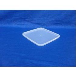 Plastlåg firkantet 2540 -  Måler 195x195 - fryseegnet
