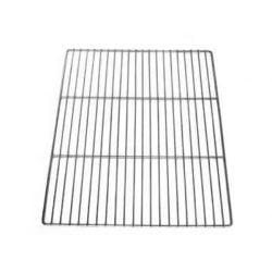 Rist i rustfrit stål, måler 60x40 cm