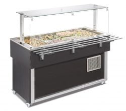 Salatbar betjeningslinie, Afinox SER-GREEN PLUS 3W