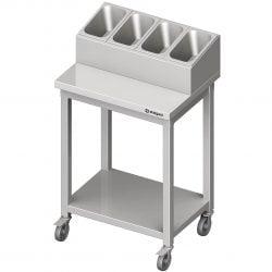 Servicevogn / trolley til bestik og tallerkener fra Stalgast