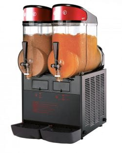 Slush ice maskine, MT MINI 2 BL ugolini m/ 2 kamre