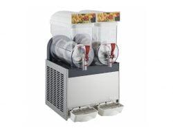 Slush ice maskine, Ugolini MT 2 på 2x 10 L, Italiensk