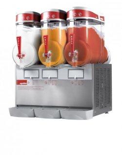 Slush ice maskine, Ugolini MT 3 på 3x 10 L, Italiensk