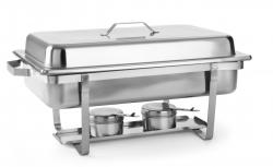 Varmebuffet / chafing dish - 1/1 GN, Hendi 475904