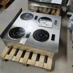Kogebord med 4x 800watt induktionsblus, Perfekt til buffet, sauce, varmholdning mv.