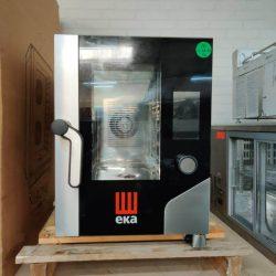 Indutriovn fra EKA, kompakt med touchskærm - brugt 1 år