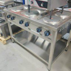 Kogebord med 6 blus, Asber ERE-1200, brugt