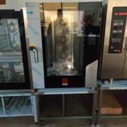 Industriovn til 60x40 plader, perfekt til bagning, EKA 1064BM - DEMOMODEL (pris eksl understel)