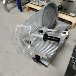 Pålægsmaskine med 30 cm klinge fra gam, brugt
