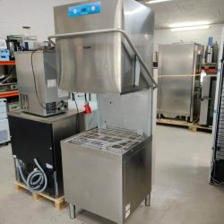 Hætteopvaskemaskine XL til 60x40 bakker Mistral MS943XCDD, BRUGT 6 mdr til udlejning