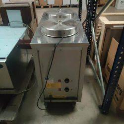 Tallerkenvarmer med 2 dispensere, brugt