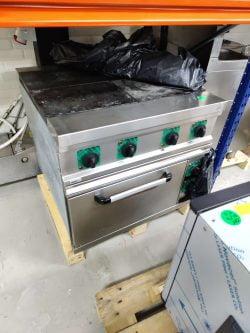 Asber kogebord med EL-ovn ASE-41, brugt