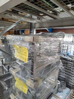 Understel / skammel i stål 400x600x400