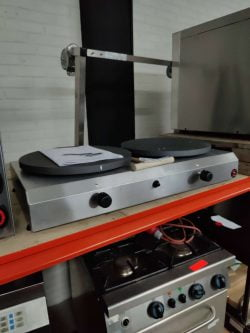 Crepeplade til gas Sammic CG-240 TOPKVALITET, demomodel