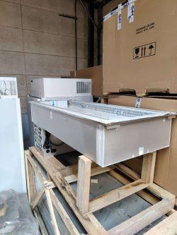 Kølebrønd / køleplade med kuldetæppe, Fagor CRV7-5 måler 1765x720x677