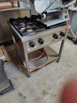 Kogebord med 4 blus, Asber GRE-800 brugt