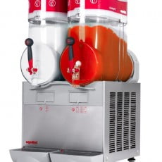 Slush Ice maskine, Ugolini GIANT 2 GL BL - 2x 15 L, SORT FARVE SPECIALPRIS