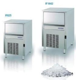 Isterningemaskine 305/kg/24 timer til brud-is, Omniwash
