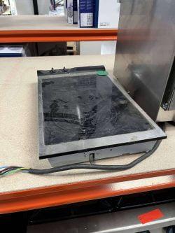 Varmeplade / kogeplade til indbygning, brugt