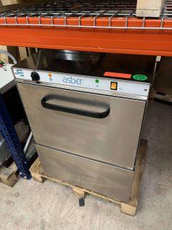 Underbordsopvasker, Asber EASY til 50x50 opvaskebakker, brugt 3 måneder (uden drænpumpe)