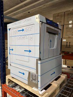 Underbordsopvasker Ozti 50x50 opvasker - TRANSPORTSKADET MED SKÆV LÅGE (skal sættes på plads for at gøre den tæt)