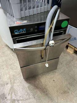 Glasopvasker GAM 350/27PSE med drænpumpe, Brugt