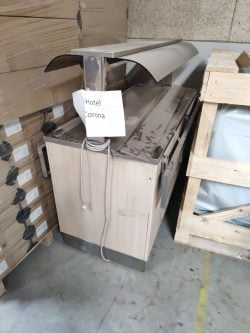 Buffet bord med køleplade til f.eks. pålæg mv. - brugt